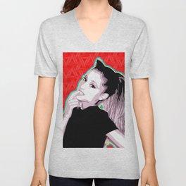 Ariana | Pop Art Unisex V-Neck
