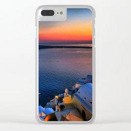 Santorini 19 Clear iPhone Case