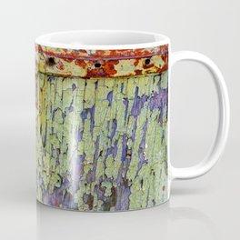 Cracked Vintage Paint Abstract Coffee Mug