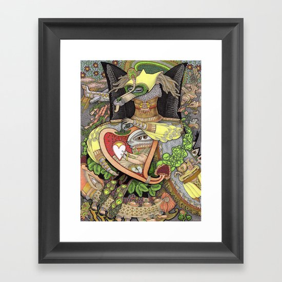 You Are Always In My Heart Framed Art Print