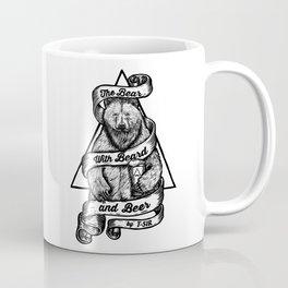 The Bear with Beard and Beer Coffee Mug