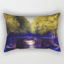 A small bridge Rectangular Pillow