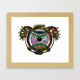 Flying Beholder Eye Framed Art Print