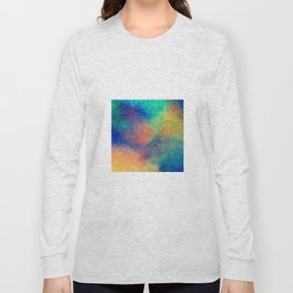 Reflecting Multi Colorful Abstract Prisms Design Long Sleeve T-shirt