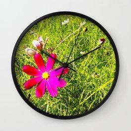 Wild Flowers (Circle) Wall Clock