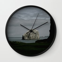 Bass Rock Wall Clock