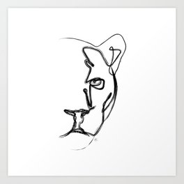 """ Animals Collection "" - Black Panther Art Print"