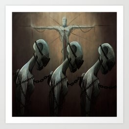 Religion as Social Control Art Print