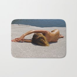 Naked Nude Lady 107 Bath Mat