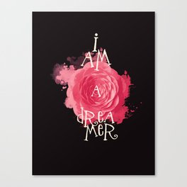 I Am A Dreamer Canvas Print