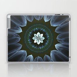 Blossom Within in White Laptop & iPad Skin