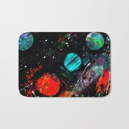Collision Course Bath Mat