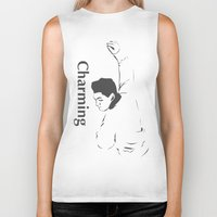 smiths Biker Tanks featuring This charming cartoon - the smiths by Trendy Youth
