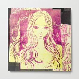 GIRL 2011-2015  Metal Print