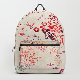 Charlotte map Backpack