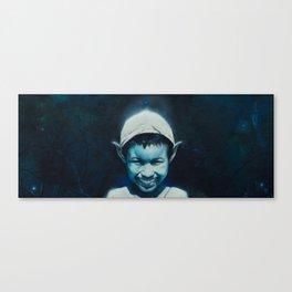 Smiling Pixie Canvas Print