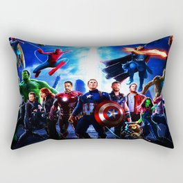 preparation of war heroes Rectangular Pillow