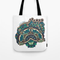 glass Tote Bags featuring Glass by J. Fuller