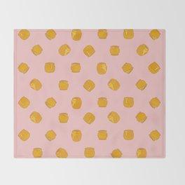 Summer Honey Throw Blanket