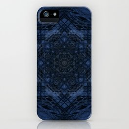 Night Hike Fractal iPhone Case