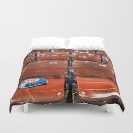 Fenway Park Seats Duvet Cover
