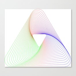 Triangel Canvas Print