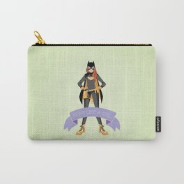 Fight Like a Girl: Batgirl Carry-All Pouch