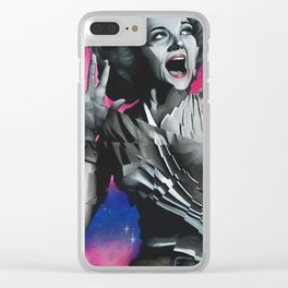 Twilight Zone Clear iPhone Case