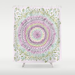 Intricate Spring Shower Curtain