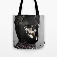 medieval Tote Bags featuring Medieval Knight by Ed Pires