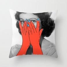 Retrograde Amnesia Throw Pillow