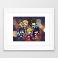 sailor moon Framed Art Prints featuring Sailor moon by Madoso