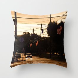 Small Town Spirit  Throw Pillow