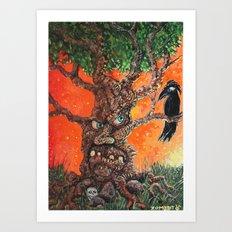 The Umbaga Tree Art Print