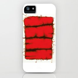Red element iPhone Case