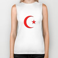 islam Biker Tanks featuring Islam symbol by gbcimages