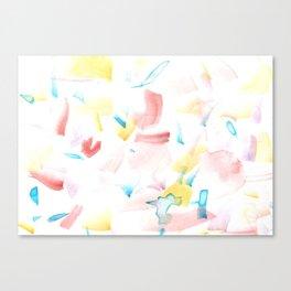 180515 Watercolour Abstract Wp 10 | Watercolor Brush Strokes Canvas Print