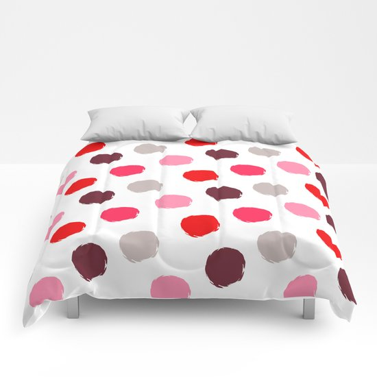 Fancy polka dot  Comforters
