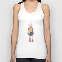 backpack Tank Tops featuring Nice backpack! by Judith Chamizo