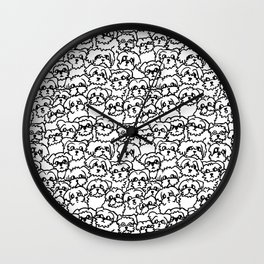 Oh Maltese Wall Clock