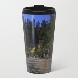West Branch, Feather River, Paradise CA.  Travel Mug