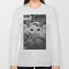 kitty ready to pounce Long Sleeve T-shirt
