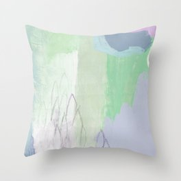 Optimist (Winter) Throw Pillow