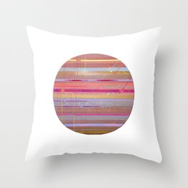 The Texture Of MisCommunication Throw Pillow