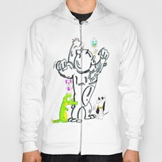 Cartoon Friends Hoody