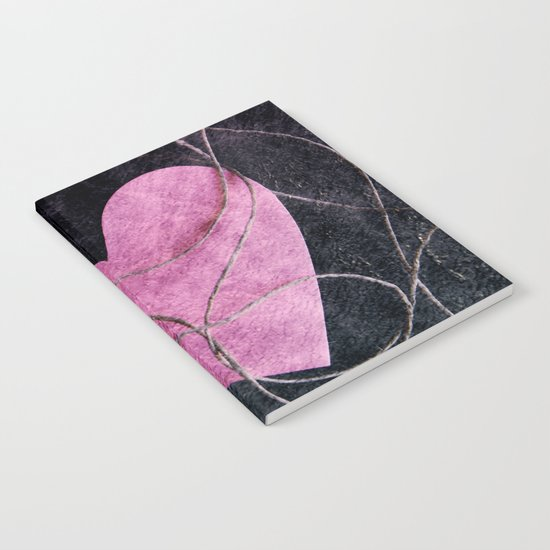 Heart grunge Notebook