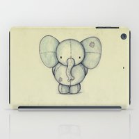 elephant iPad Cases featuring Cute Elephant by Mike Koubou