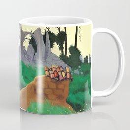 Felix Edouard Vallotton - The Church Of Souain - Digital Remastered Edition Coffee Mug