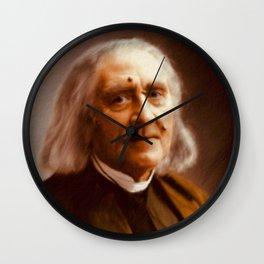 Franz Liszt, Composer Wall Clock