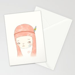HATE YOU MISS YOU Stationery Cards